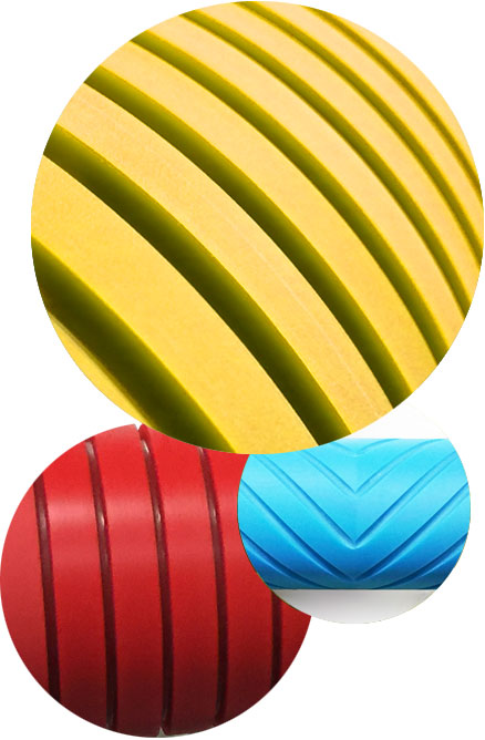 Corrugated Roll Covers