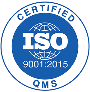 ISO 9001-2015 Certified Company Certified QMS
